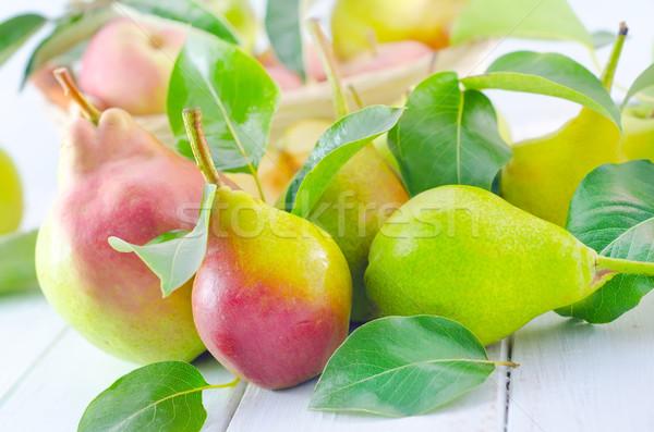 pear Stock photo © tycoon