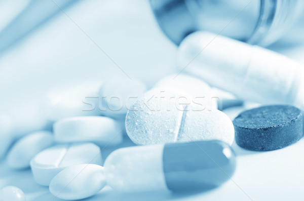 pills Stock photo © tycoon