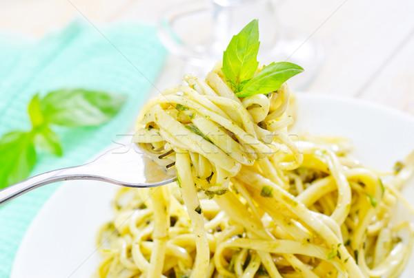 パスタ ペスト 食品 健康 レストラン 緑 ストックフォト © tycoon