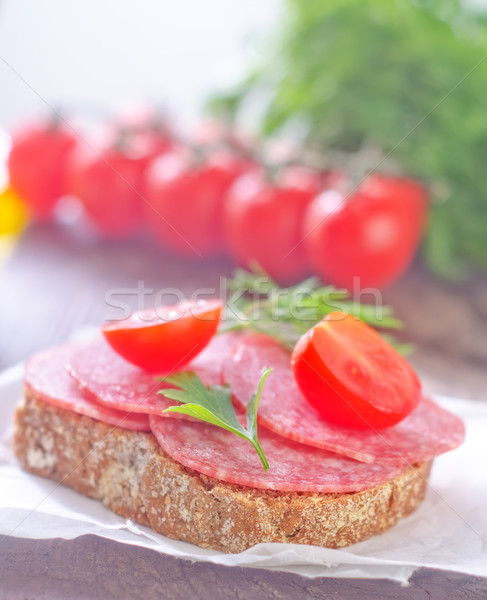 sandwich Stock photo © tycoon