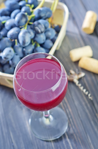 домашний рюмку вечеринка древесины фрукты фон Сток-фото © tycoon