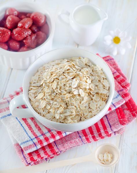 oat flakes Stock photo © tycoon