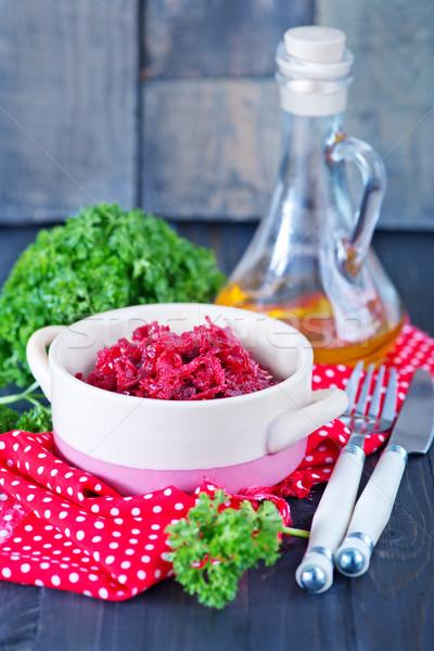 Castron tabel alimente sănătate bucătărie Imagine de stoc © tycoon