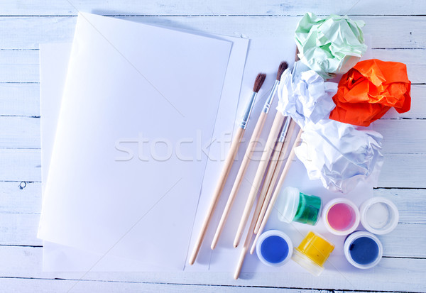 color paint Stock photo © tycoon