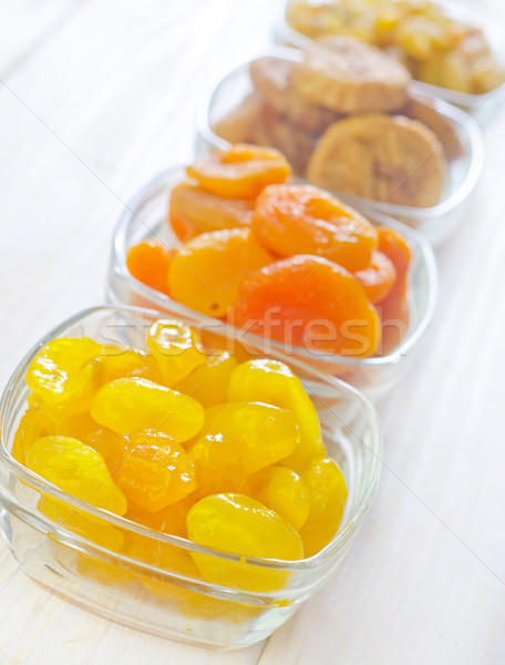 dried fruits Stock photo © tycoon