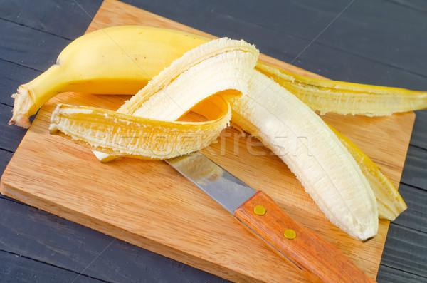Banán fa kert farm piac fotó Stock fotó © tycoon