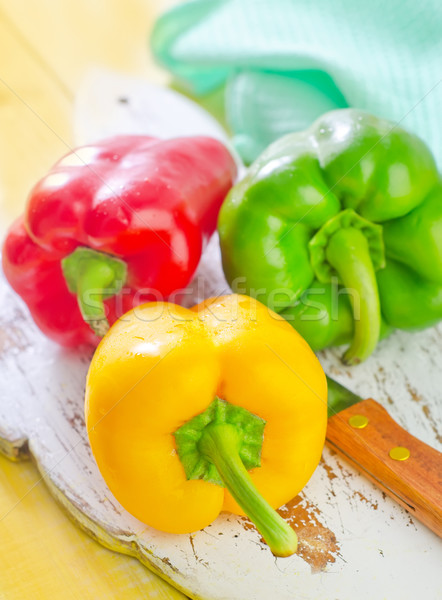 color peppers Stock photo © tycoon