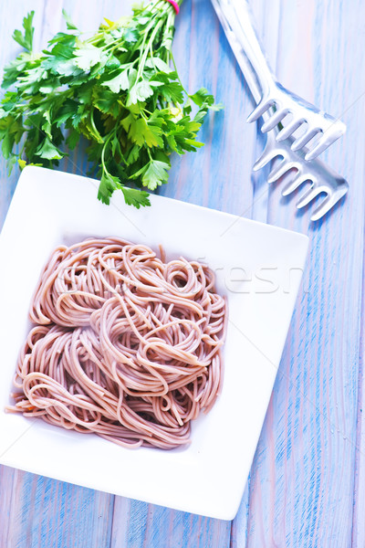 boiled soba Stock photo © tycoon