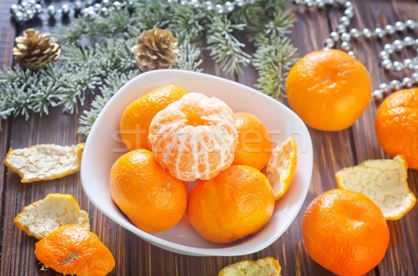 Alimentaire santé table vert dessert jaune Photo stock © tycoon