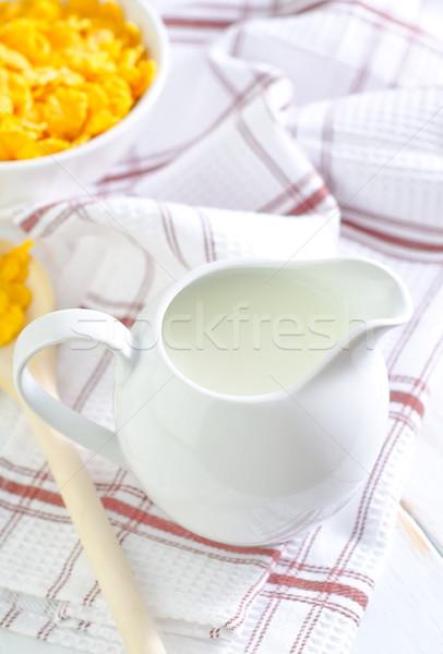 высушите завтрак продовольствие фрукты студию всплеск Сток-фото © tycoon