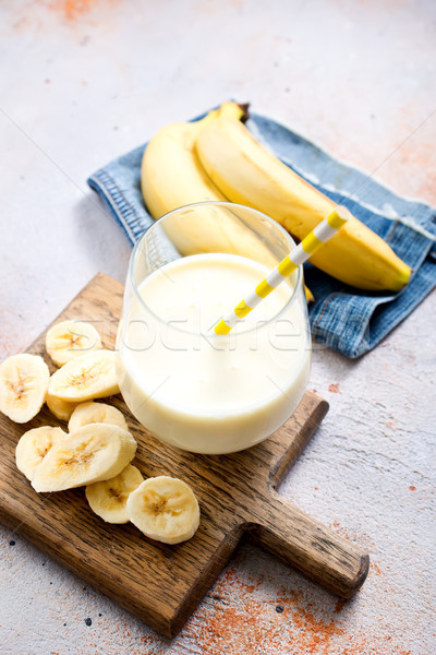 banana drink Stock photo © tycoon