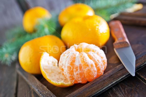 tangerines Stock photo © tycoon