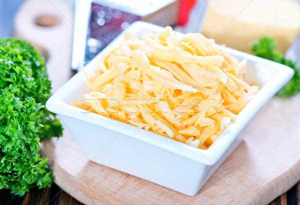 粉チーズ ボウル 表 オレンジ チーズ 食べ ストックフォト © tycoon