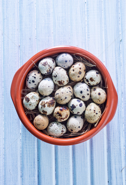 quail eggs Stock photo © tycoon
