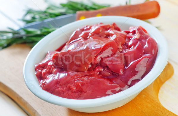 chicken liver Stock photo © tycoon