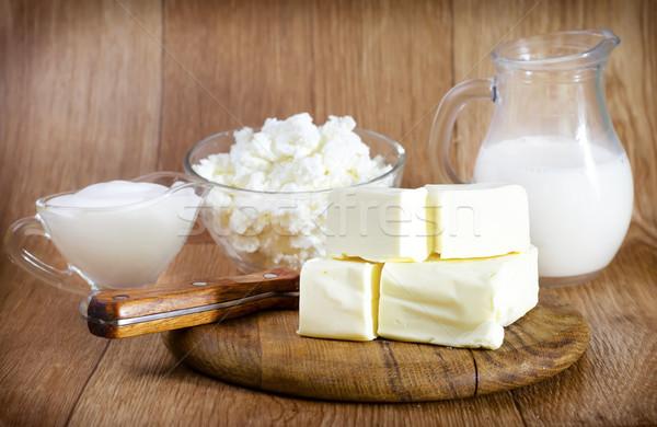 milk product Stock photo © tycoon