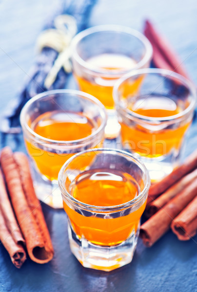 orange liquor Stock photo © tycoon