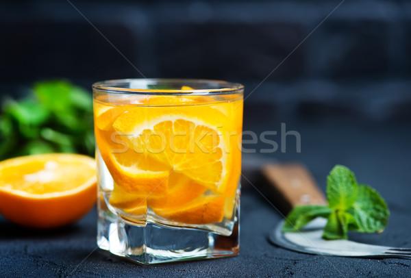 Bere vetro frutta sfondo Foto d'archivio © tycoon
