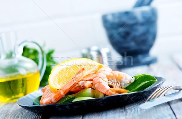 Salata lezzet baharat stok fotoğraf Stok fotoğraf © tycoon