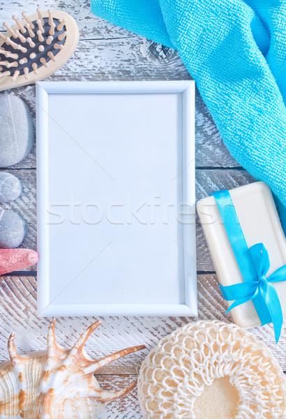 Igiene oggetti mare bar star spa Foto d'archivio © tycoon