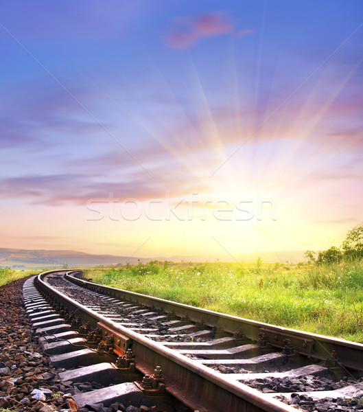 railroad Stock photo © tycoon