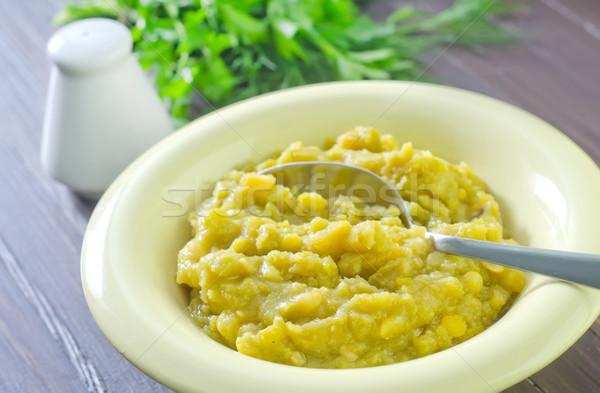 mashed mung beans Stock photo © tycoon