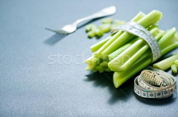 セロリ 生 黒 表 新鮮な 食品 ストックフォト © tycoon