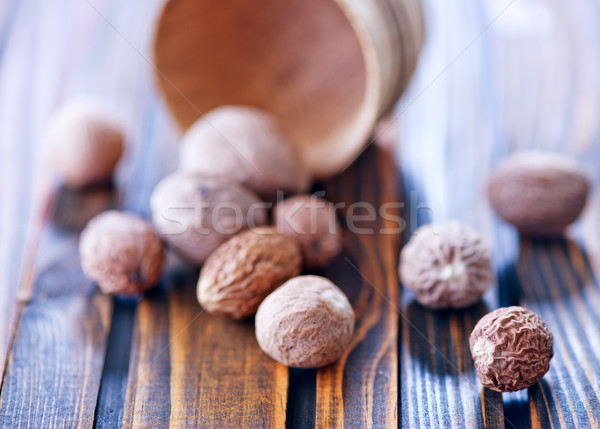 nutmeg Stock photo © tycoon