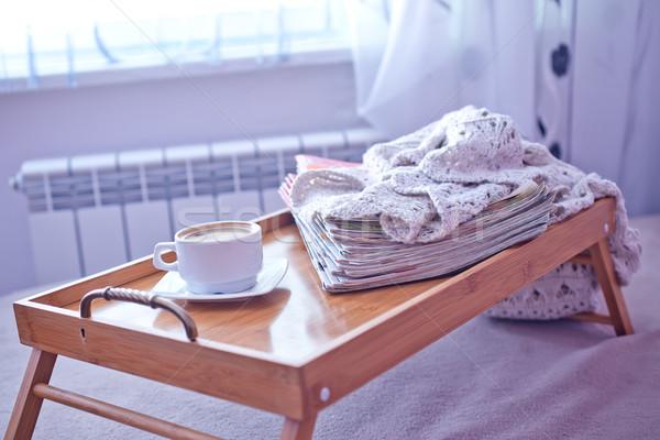 coffee on tray Stock photo © tycoon