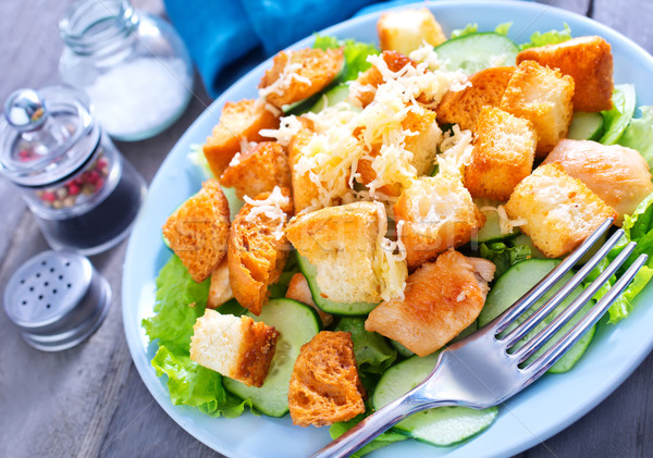 caesar salad Stock photo © tycoon