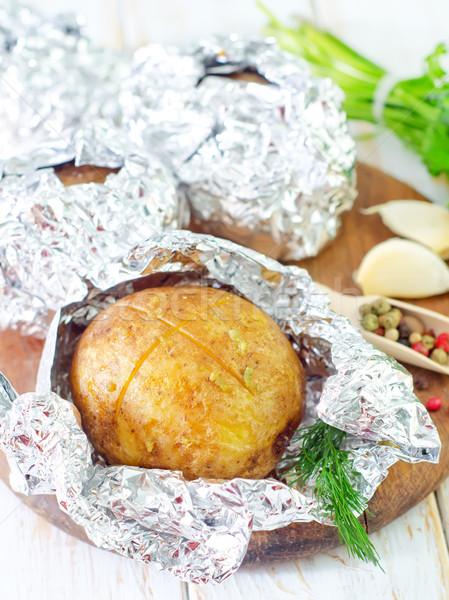 картофеля продовольствие приготовления обед еды Сток-фото © tycoon