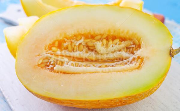 メロン 水 食品 自然 夏 赤 ストックフォト © tycoon