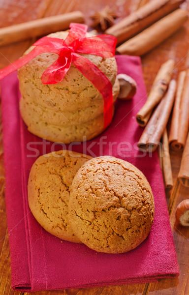 Photo stock: Cookies · chocolat · gâteau · boire · café · déjeuner