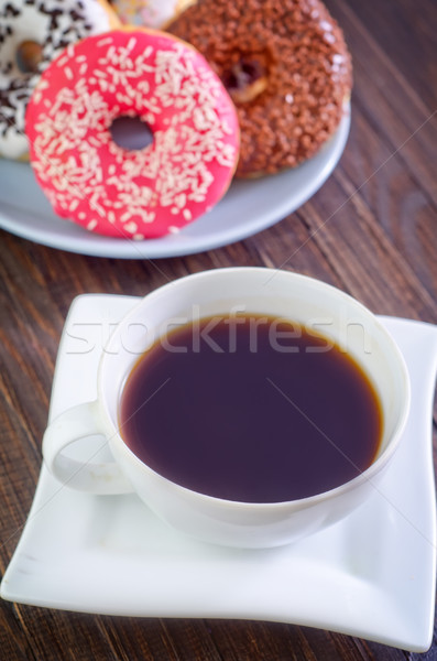 Stok fotoğraf: Kahve · duman · içmek · kafe · alışveriş