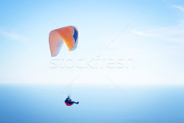 égbolt sport tájkép utazás ugrás szabadság Stock fotó © tycoon