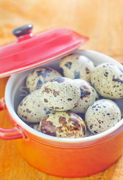 Huevos naturaleza huevo desayuno Shell cocinar Foto stock © tycoon