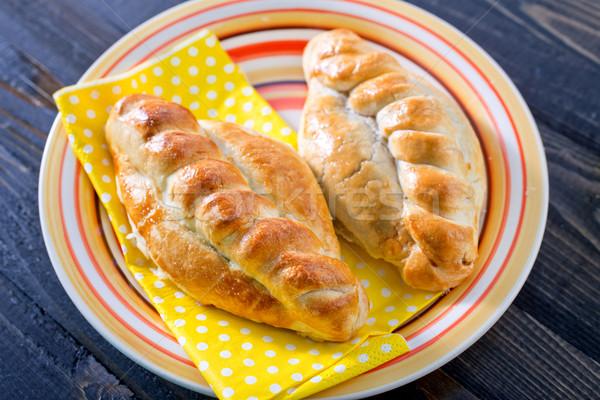 Pite hús étel háttér konyha csoport Stock fotó © tycoon
