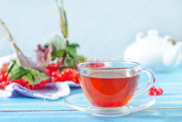 Vers thee natuur blad achtergrond zomer Stockfoto © tycoon
