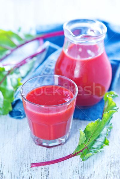 beet juice Stock photo © tycoon