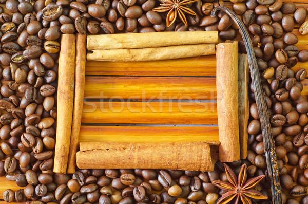 coffee and cinnamon Stock photo © tycoon