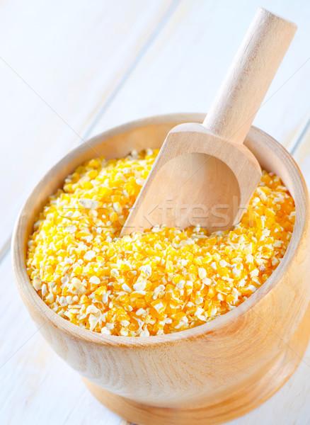 Corn groats Stock photo © tycoon