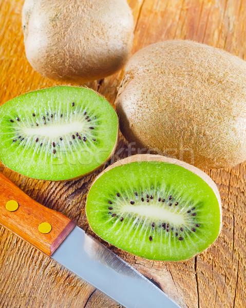 свежие киви продовольствие стороны фрукты Сток-фото © tycoon