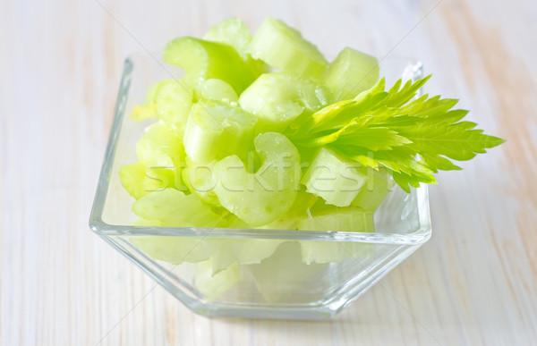 Kereviz doğa sağlık renk bitki beyaz Stok fotoğraf © tycoon