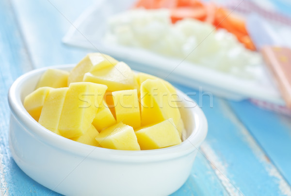 raw vegetables Stock photo © tycoon