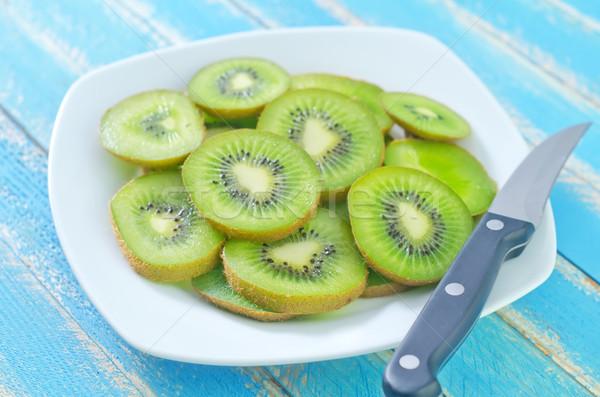 fresh kiwi Stock photo © tycoon