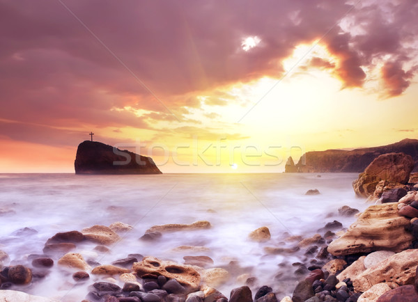 sea coast Stock photo © tycoon