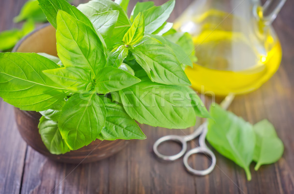 basil Stock photo © tycoon