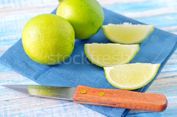 аннотация фрукты здоровья зеленый обеда повар Сток-фото © tycoon