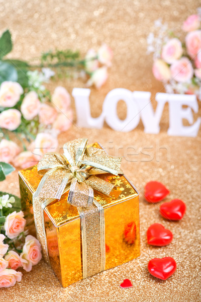 шкатулке письма любви счастливым природы Сток-фото © tycoon