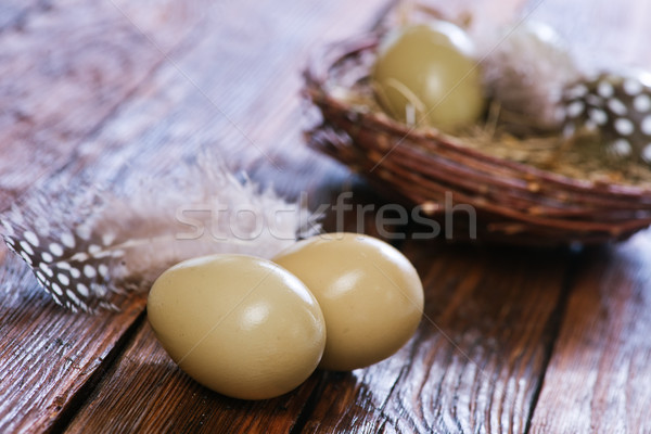 Eggs pheasant Stock photo © tycoon